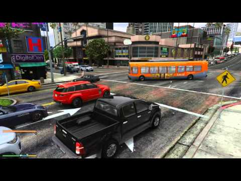 GTAV Heavy Traffic Mod / Realistic Los Angeles Traffic