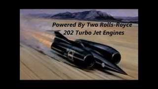 The Thrust SSC (Fastest Land Vehicle)