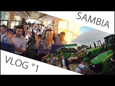 Sambia Exkursion VLog#1: Flug nach Lusaka und Afrikas größter John Deere Händler