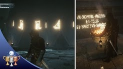 Assassin's Creed Unity Dead Kings - 3 Puzzle Solutions in Raising the Dead (Memory 4) - Royal Crypt