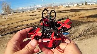 Eachine Aurora 90 Brushless Mini FPV Drone Flight Test Review