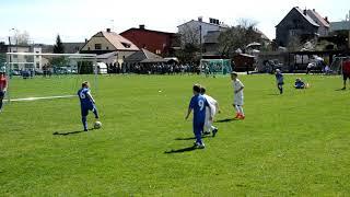 Fotbal 14.4.18.Triangl U8-Baník,Vítky,Sparta,Brno,Olomouc,Slovácko v Markvartovicích,zápas č.4.