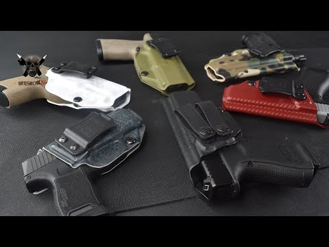 The Best Holsters For Concealed Carry!