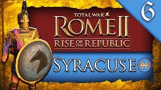 KING OF THE SEAS! Total War ROME II: Rise of the Republic: Syracuse Campaign Gameplay #6
