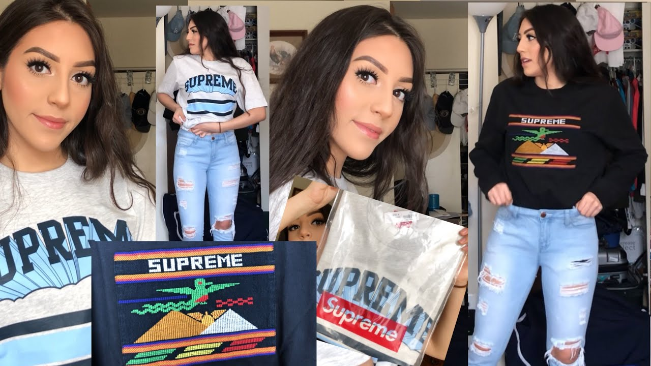 Supreme City Arc Tee Embroidered SS19 New