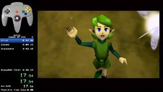 The Legend of Zelda: Ocarina of Time Dampe HP RTA: 4:39.64