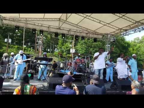 STAN BUTLER AND HIS GRANDMA'S STEAL THE SHOW AT MACON GA SOUL JAM FESTIVAL