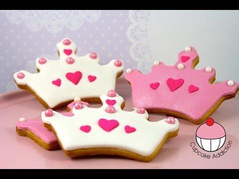 How To Make A Princess Crown Cupcake Cake