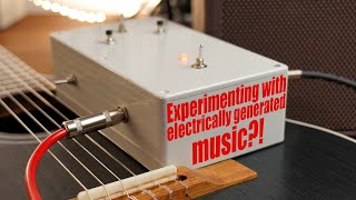 Experimenting with electrically generated music?! || DIY Guitar Effects board!