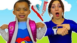 Put On Your Shoes Song   Hurry Up Morning Routine + More Nursery Rhymes & Kids Songs