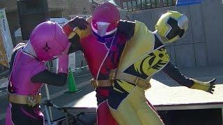 2016/2/7 愛知県西尾市で行われた、手裏剣戦隊ニンニンジャーショーの様...