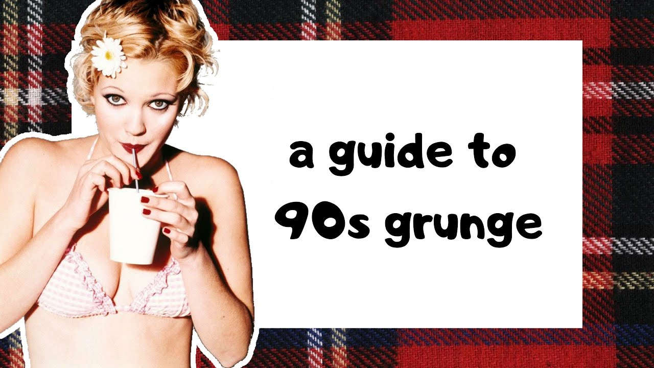 """Download a guide to 90s """"grunge"""" 💀🎸☯️"""