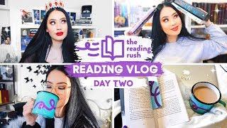 GOTTA CATCH 'EM ALL (them badges) | Reading Rush Day Two Reading Vlog