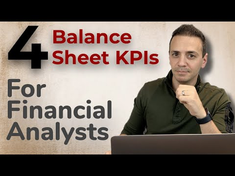 4 KPIs To Measure Financial Leverage! Every Financial Analyst MUST Know!
