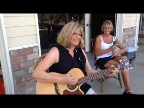 Lori Henry sings Angel from Montgomery at Linda Kellers Party 6/7/14