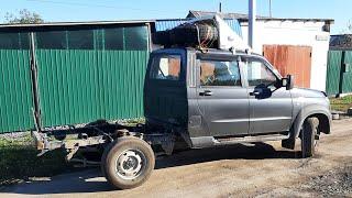 Собираем наш автодом УАЗ Профи. После усиления рамы и задней подвески.