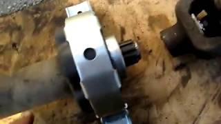 Заміна підвісного підшипника на газелі 3302 самостійно 2 частина .
