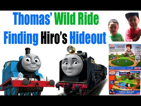 Thomas Wild Ride Finding Hiros Hideout Trackmaster TOMY