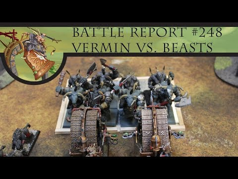 The Ninth Age 2.0 - Vermin Swarm vs. Beast Herds (Battle Report #248)