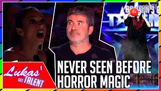 THE MOST HORRIFYING MAGIC Audition at Britain