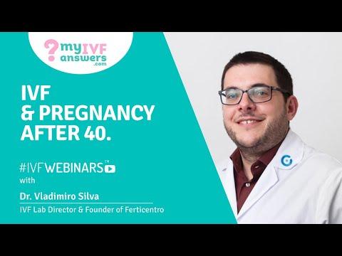IVF & pregnancy after 40 #IVFWEBINARS
