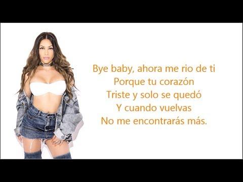 Bye Baby - Alejandra Alfaro l KARAOKE