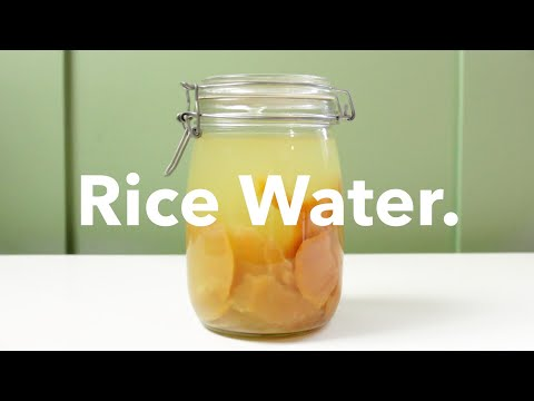 THE REAL WAY to do the Rice Water Hair Rinse | Yao Women's Recipe