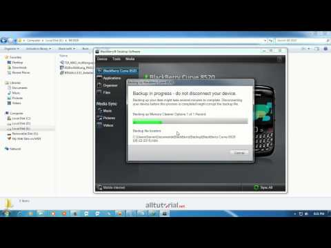 blackberry curve 8520 phone software