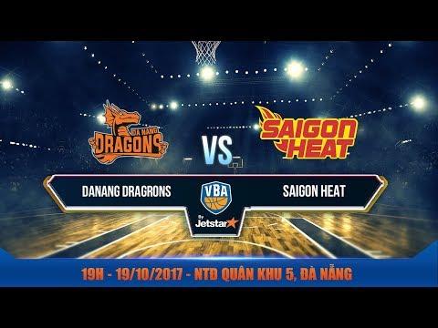 #Livestream || Game 33: Danang Dragons vs Saigon Heat 19/10 | VBA 2017 by Jetstar