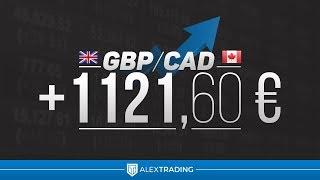 +1121,60€ sur GBP/CAD - Forex
