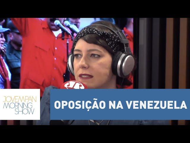 """Helen: """"Oposição na Venezuela vem forte""""   Morning Show"""
