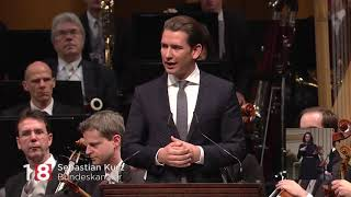 Österreich feiert 100 Jahre Republik: Staatsakt mit Mahnungen