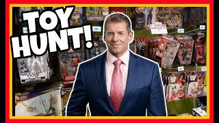 TOY HUNT!!! In Bed With Vince McMahon!!! WWE Action Figure Fun #112