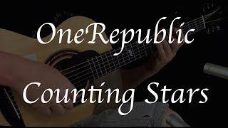 OneRepublic - Counting Stars - Fingerstyle Guitar