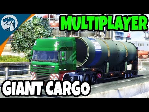 NEW DLC, LIVE MULITPLAYER, & EPIC CARGO | Euro Truck Simulator Gameplay with Subscribers