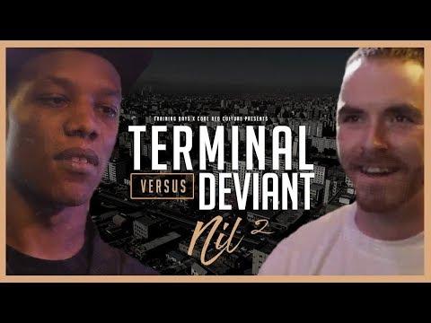 Code Red | TERMINAL VS DEVIANT | Rap Battle