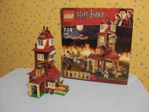 Обзор ЛЕГО LEGO Гарри Поттер 4701 [музей GameBrick] - YouTube
