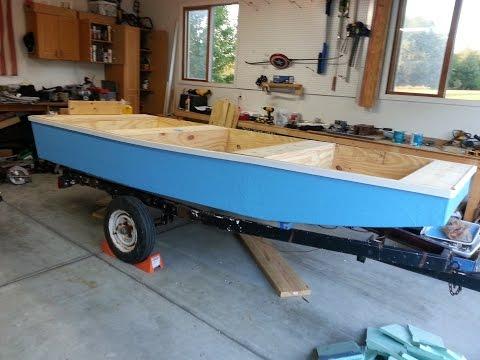 Building A Wooden Jon Boat In 2 Weeks!