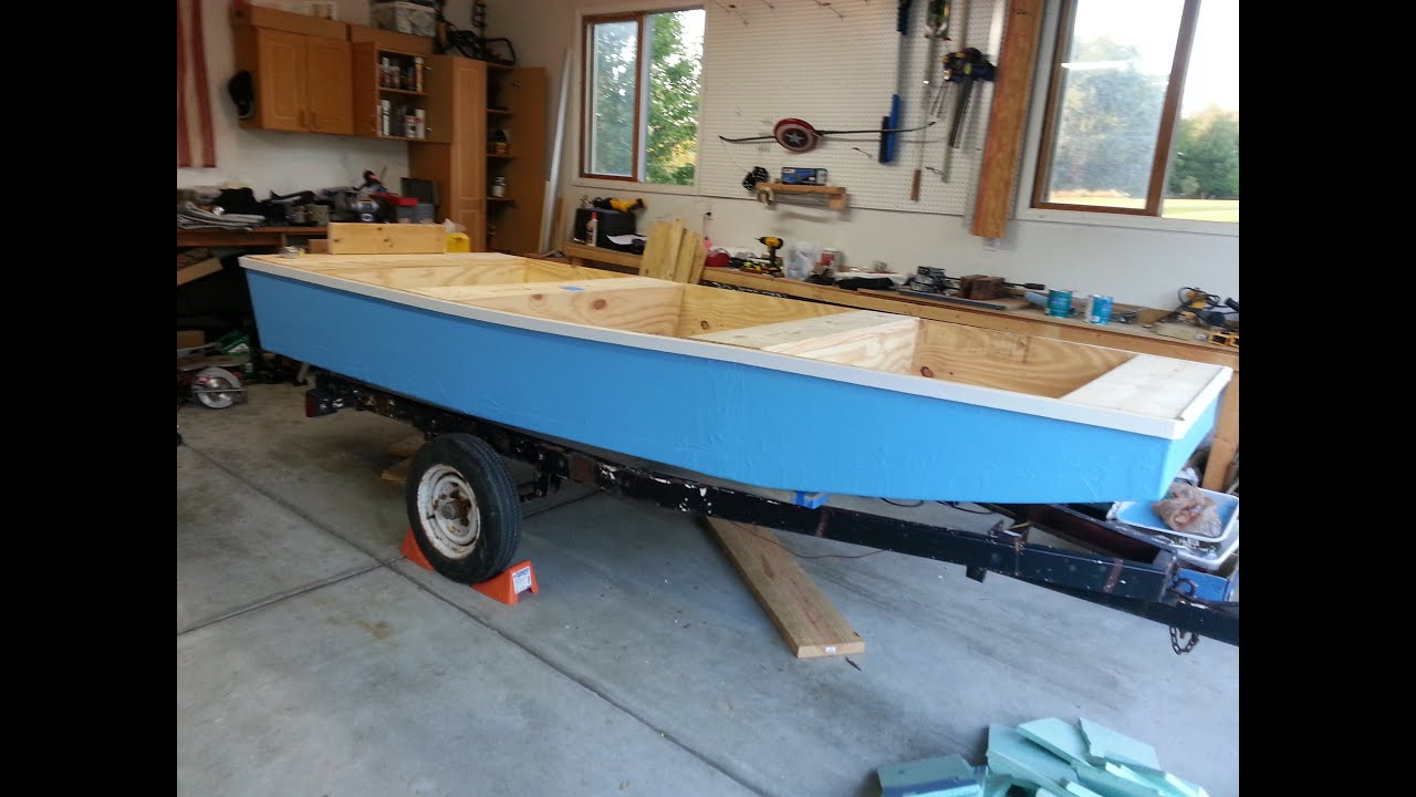 Building A Wooden Jon Boat In 2 Weeks! - YouTube