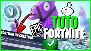 [TUTO] HOW TO HAVE THE CODE CREATER FORTNITE BATTLE ROYALE EPIC GAME