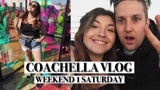 coachella 2018 weekend 1 day 2 vlog!   sahara tent craziness & destiny's child reunion