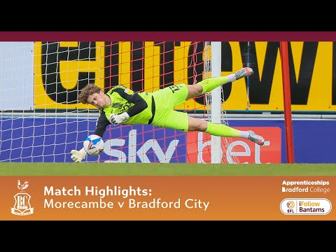 Morecambe Bradford Goals And Highlights