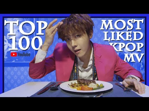 [TOP 100] MOST LIKED K-POP MV OF ALL TIME• March 2018