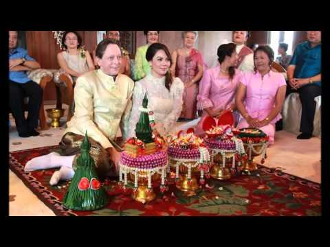 รวมภาพ พิธีแต่งงาน แบบไทย @เรือนไทยสุขุมวิท50