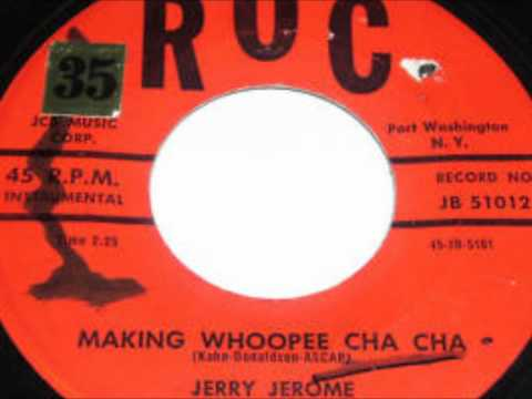 FOR SALE A VENDRE TE KOOP   JERRY JEROME   MAKING WHOOPEE CHA CHA 20€