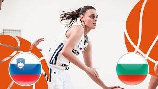 Slovenia v Bulgaria - Full Game - FIBA U16 Women's European Championship Division B 2018 thumbnail