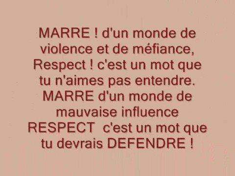 Respect  de A.N.D.S