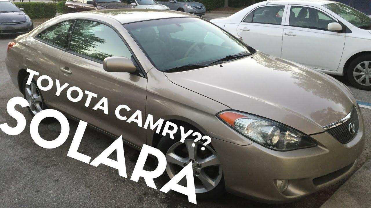 2005 Toyota Camry Solara SLE 3.3L V6 Car Review For Sale