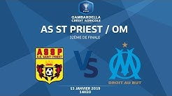 COUPE GAMBARDELLA-CA I 32e de finale - AS St-Priest / OM - 13/01/19