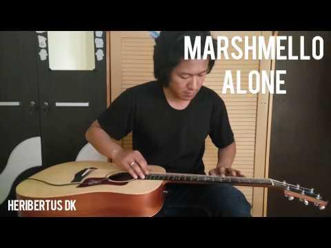 Marshmello - Alone Lap Taping Guitar
